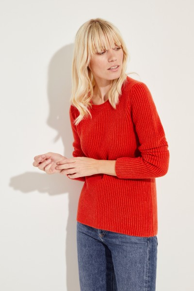 Cashmere-Pullover 'Margaux' Rot