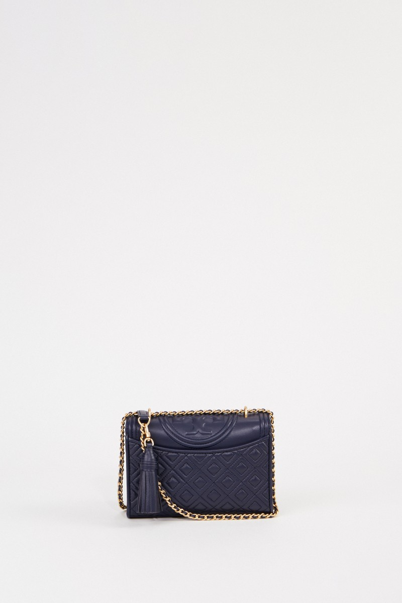 Umhängetasche 'Fleming Small' Marineblau