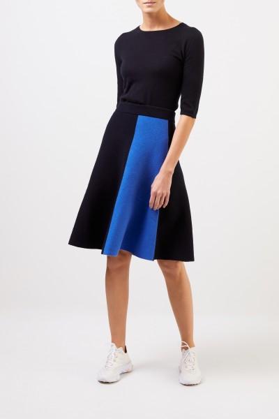 Iris von Arnim Short sleeve cashmere pullover 'Lyv' Navy Blue