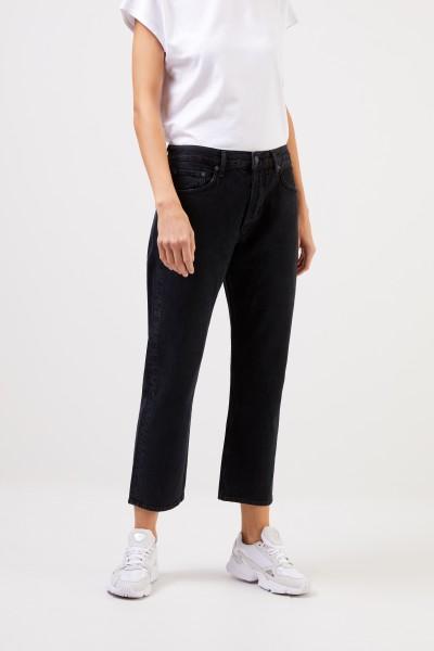 AGOLDE High Rise Jeans ' Parker' Schwarz