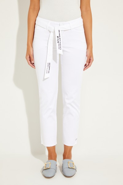 Jeans 'Scout Cropped' Weiß