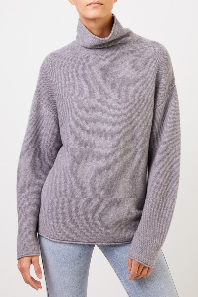 Uzwei Cashmere pullover with turtleneck Grey