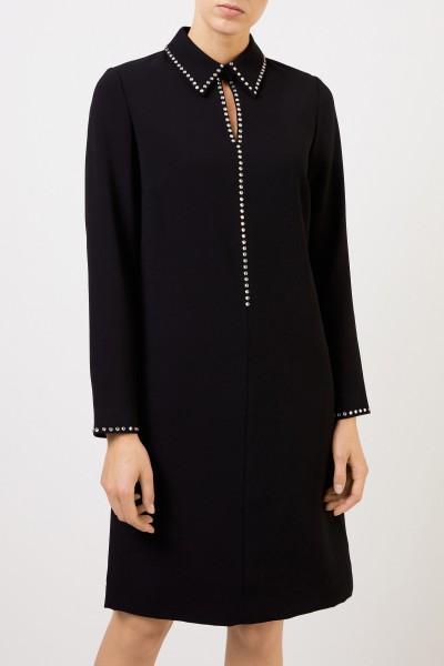 Steffen Schraut Classic dress with rhinestones Black