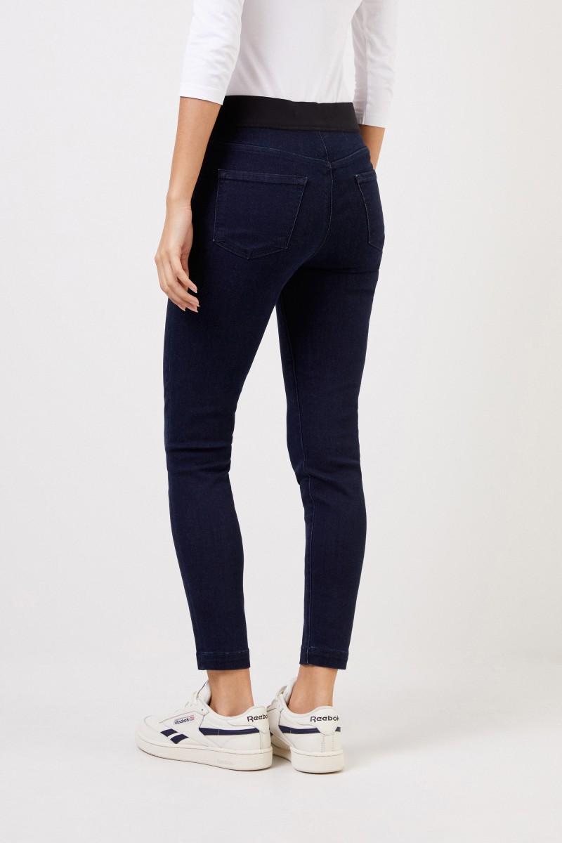 J Brand Elastische Hose 'Aster' Blau