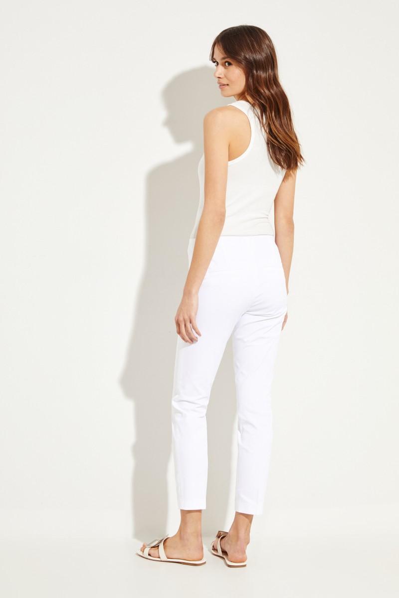 Klassische Hose 'Ros' Weiß
