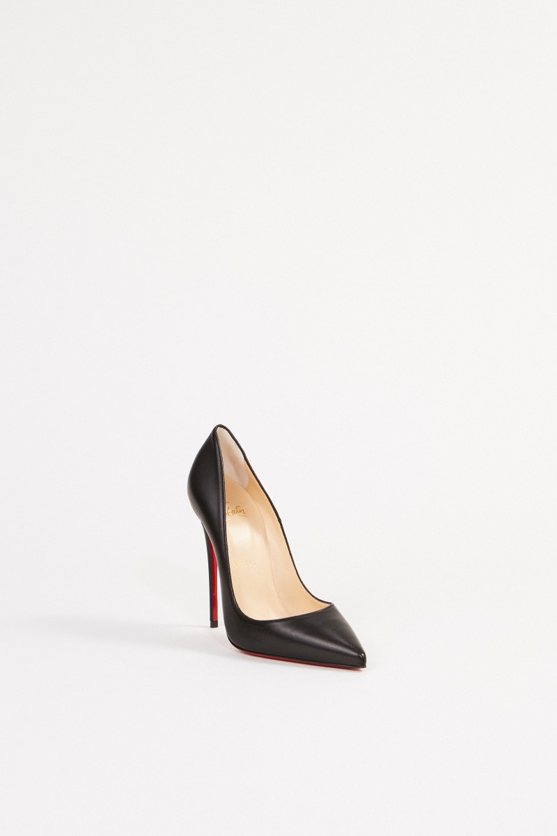 Christian Louboutin Pump 'So Kate 120 Nappa Shiny' Schwarz