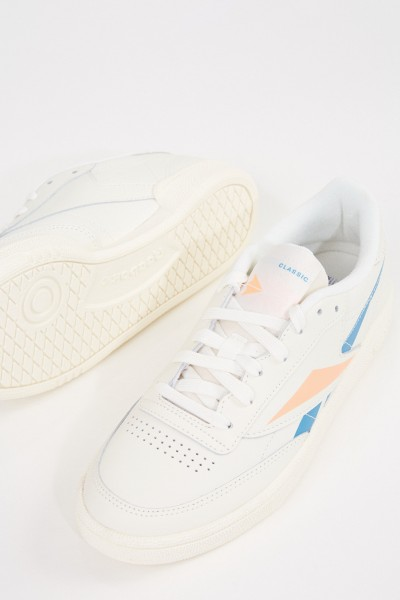 Reebok Sneaker 'Club C 85' Cream/Multi