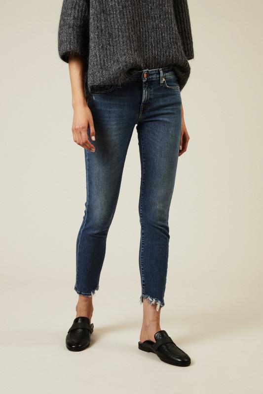 Jeans 'Slim Illusion Nostalgia' Blau