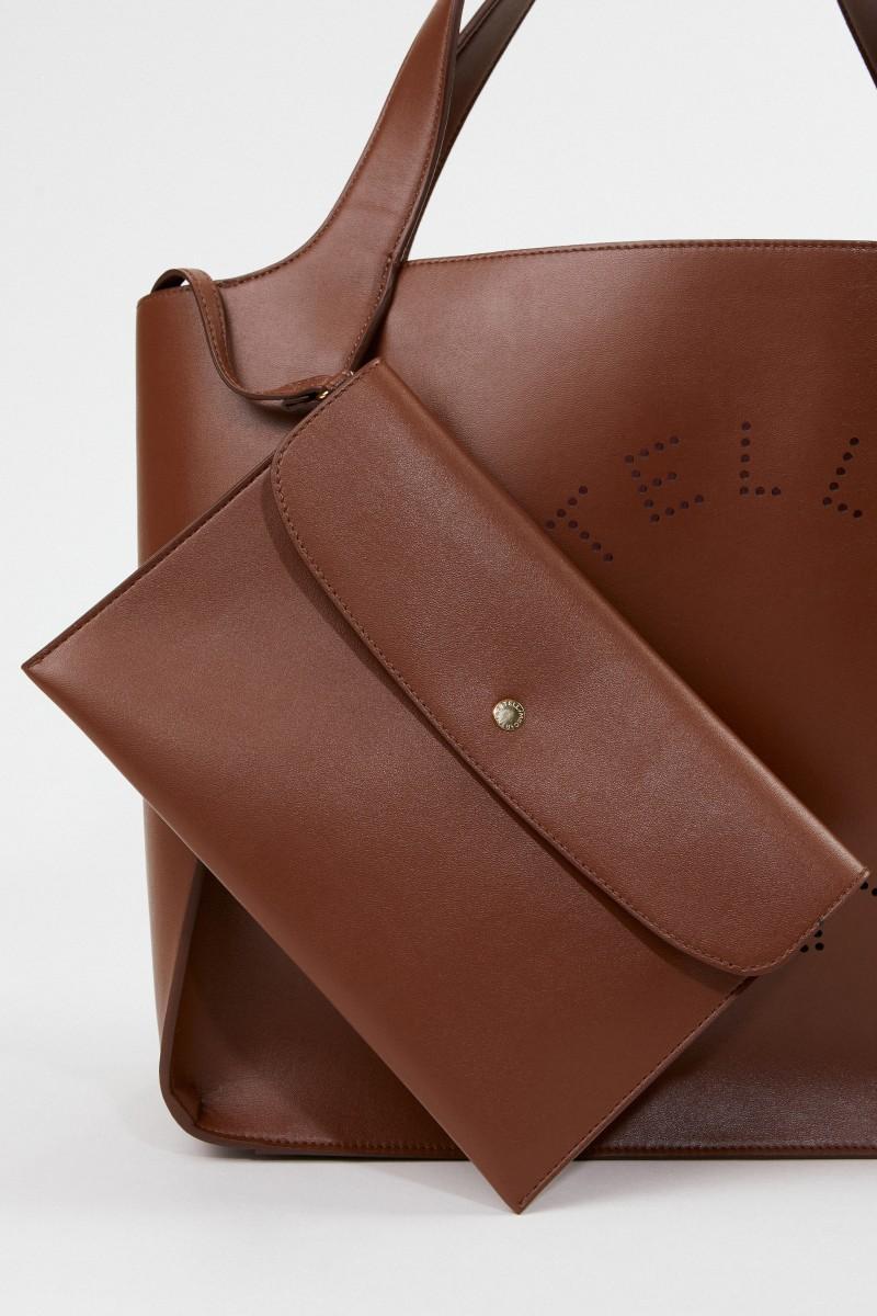 Stella McCartney Tasche 'Tote Eco Soft' Braun