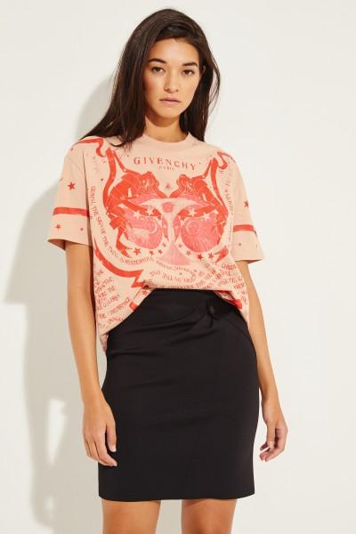 T-Shirt mit Allover Print Multi