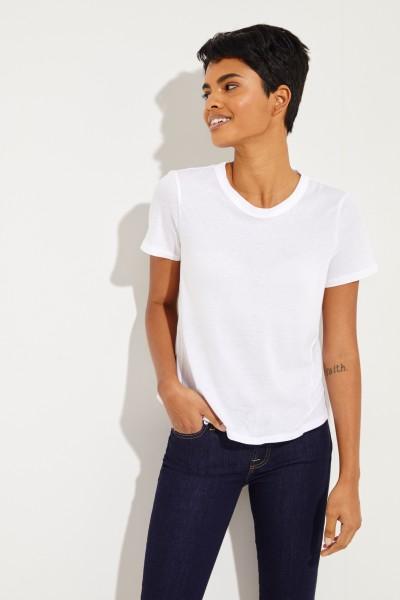 T-Shirt 'Lauren' Weiß