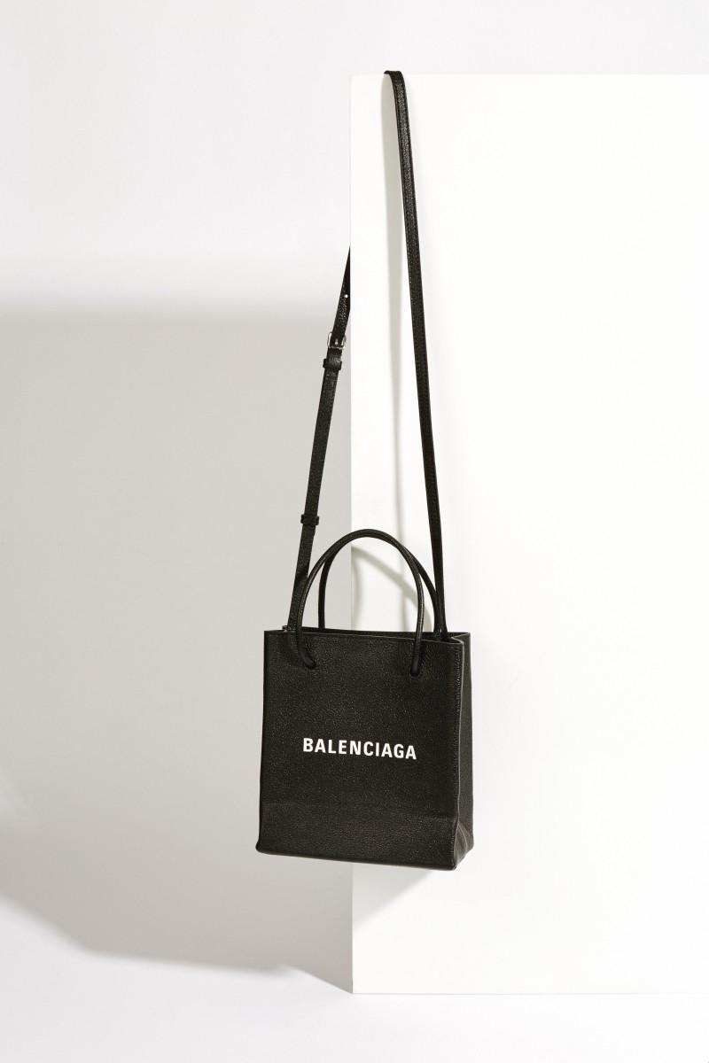 Handtasche 'Shopper Small' Schwarz