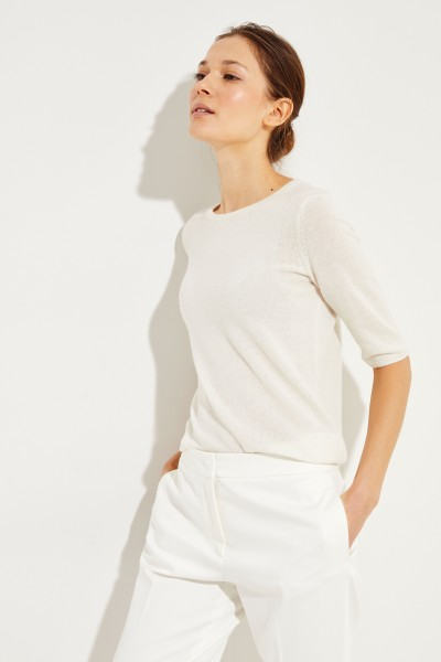 Cashmere-Pullover 'Carolin' Crèmeweiß