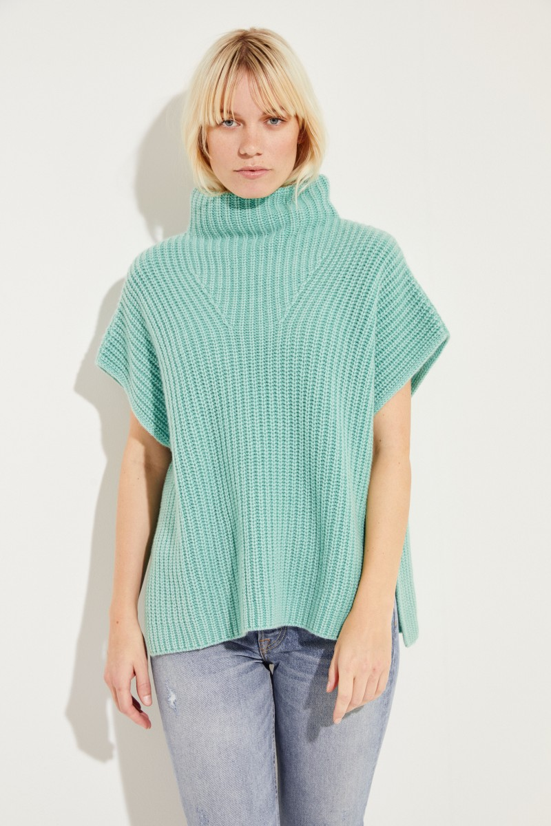 Cashmere-Pullover 'May' Grün
