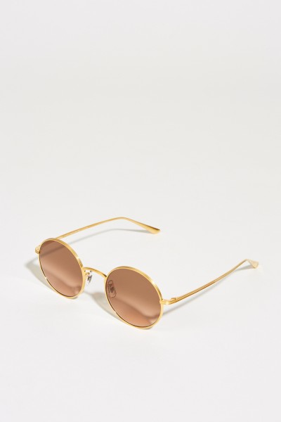 Sonnenbrille X The Row 'After Midnight' Gold