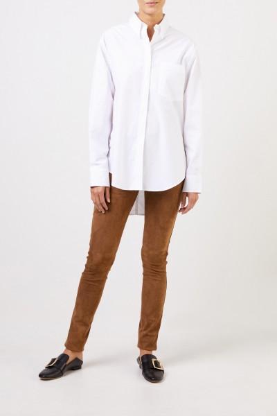 Joseph Classic Cotton Blouse White