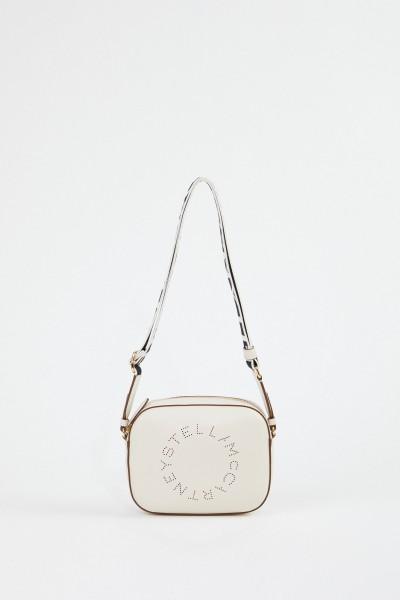 Stella McCartney Shoulder Bag 'Mini Camera Bag' White