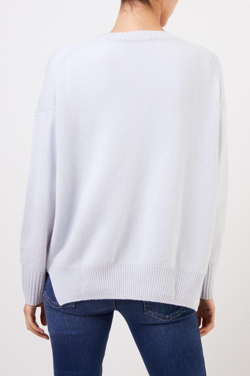 Allude Cashmere Pullover Hellblau