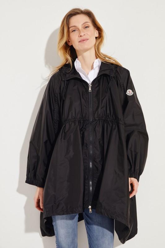 fc394fb71 Oversize hooded jacket  Nicosie  Black