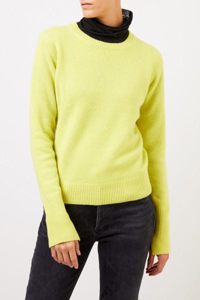 Joseph Classic Cashmere Sweater Lime