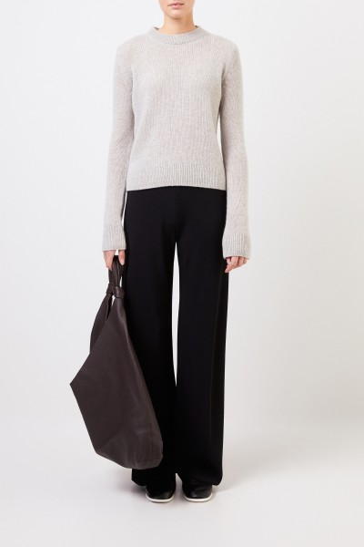 Cashmere sweater 'Muriel' Light Grey