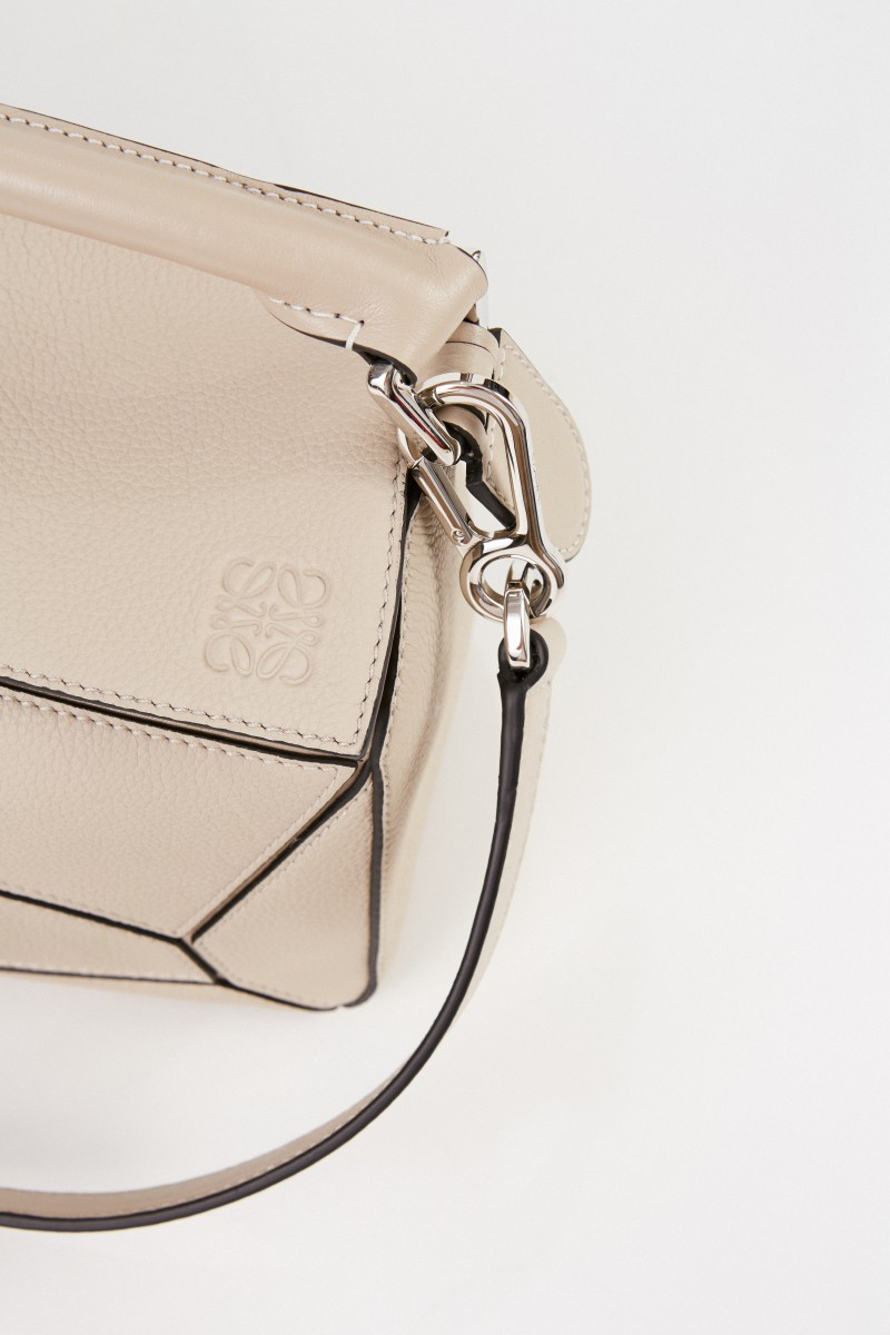 Tasche 'Puzzle Bag Small' Beige