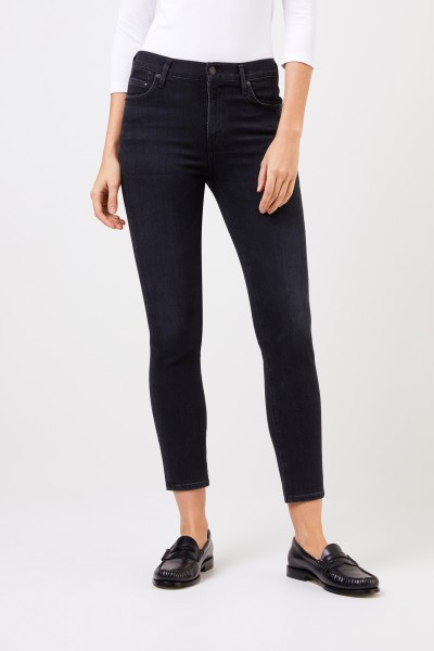 Citizens of Humanity Midrise skinny jeans 'Rocket Rocket Cropped' Anthracite