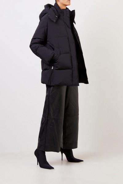 Woolrich Down jacket 'Aurora' with hood Black
