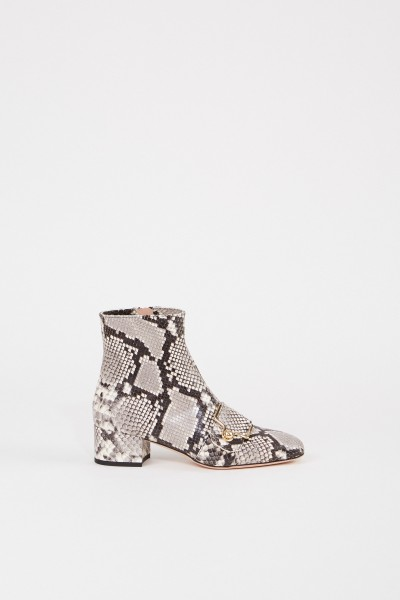 Bally Ankle boot 'Maggye' in snake look Grey/Multi