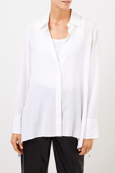 Stella McCartney Classic Silk Blouse White