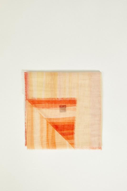 Tuch 'Henni' Gelb/Orange