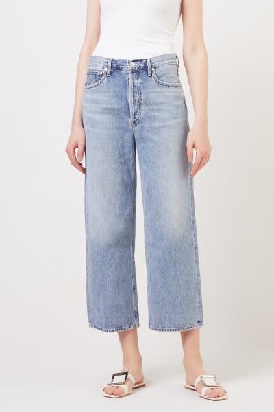 AGOLDE High-Waist Jeans 'Ren' Blau
