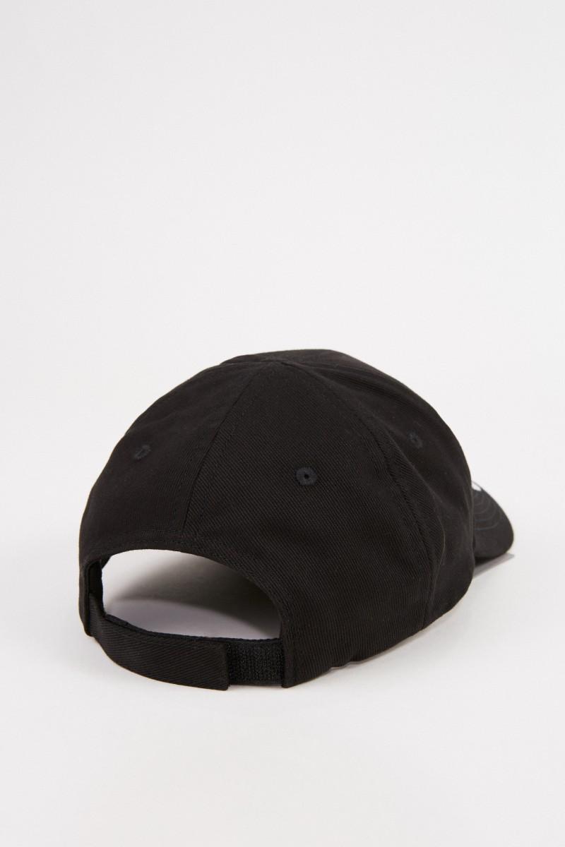 Balenciaga Cap mit Logo-Schriftzug Schwarz