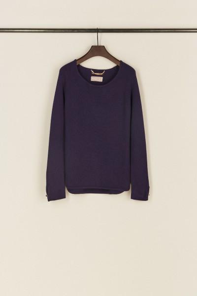 Cashmere-Pullover 'Cyra' Violett