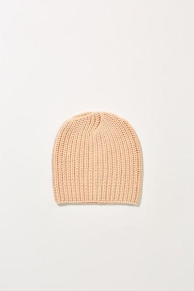 Cashmere-Mütze 'Amelia' Nude