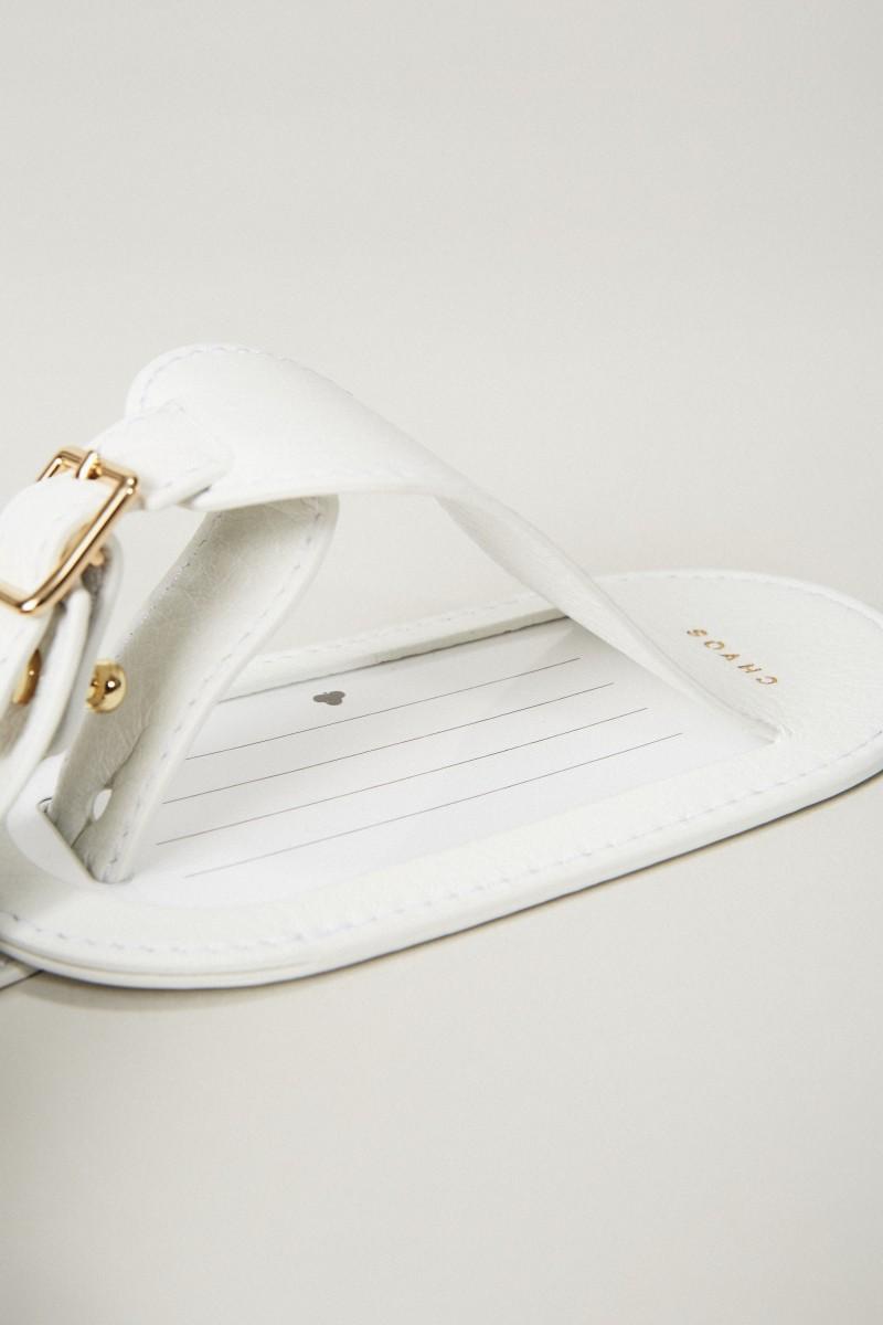 Koffer Anhänger Weiß