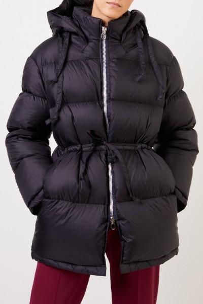 Acne Studios Down jacket with hood Black