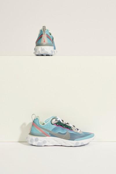 Sneaker 'React Element 87' Blau/Multi