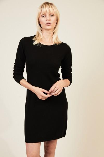 Cashmere Kleid 'Canaria' Schwarz