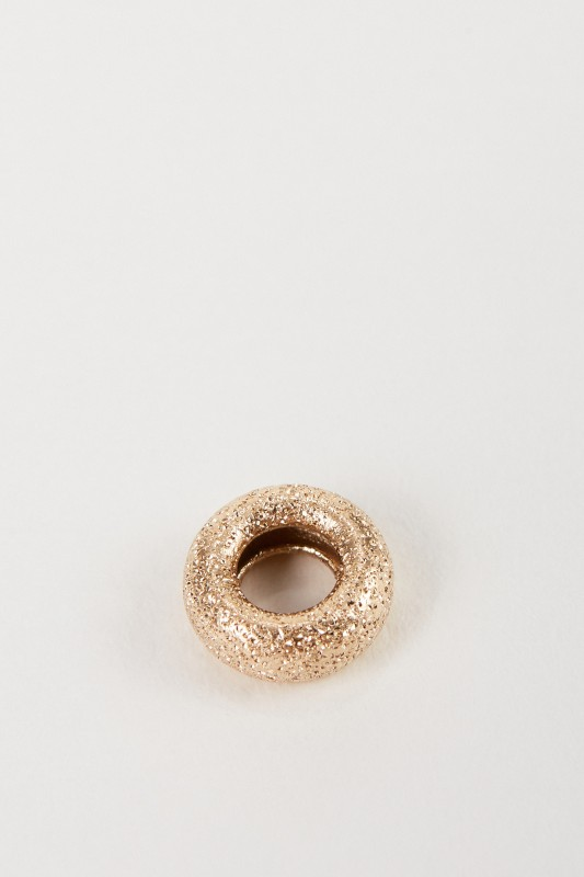Carolina Bucci Anhänger 'Florentine Finish' 18K Gold