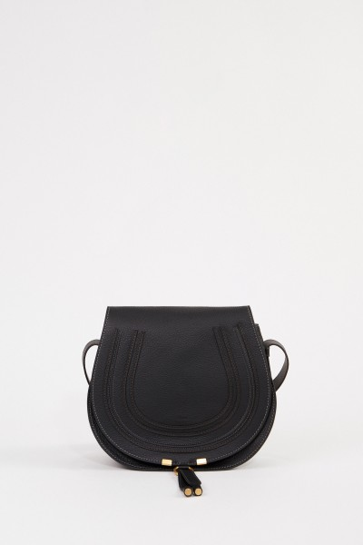 Chloé Shoulder bag 'Marcie Saddle Medium' Black