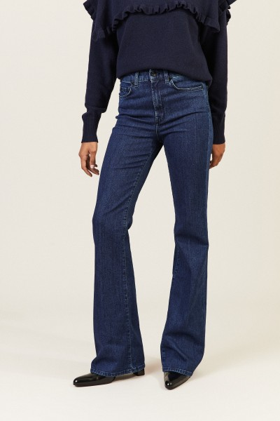 Jeans 'Lisha Slim Illusion' Blau