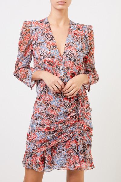 Veronica Beard Patterned silk dress 'Maggie' Multi