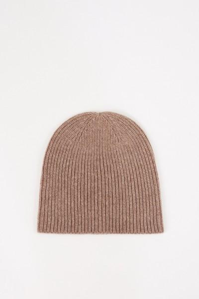 Uzwei Wool cashmere hat Taupe