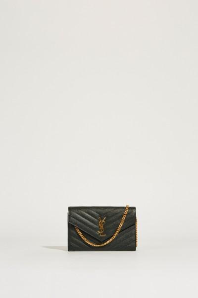 Umhängetasche 'Monogram Wallet' Dunkelgrün