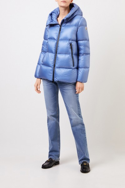 Down jacket 'Seritte' with hood Light Blue