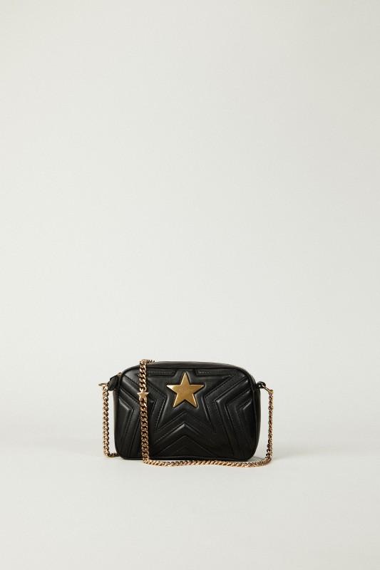 Schultertasche 'Mini Stella Star' Schwarz