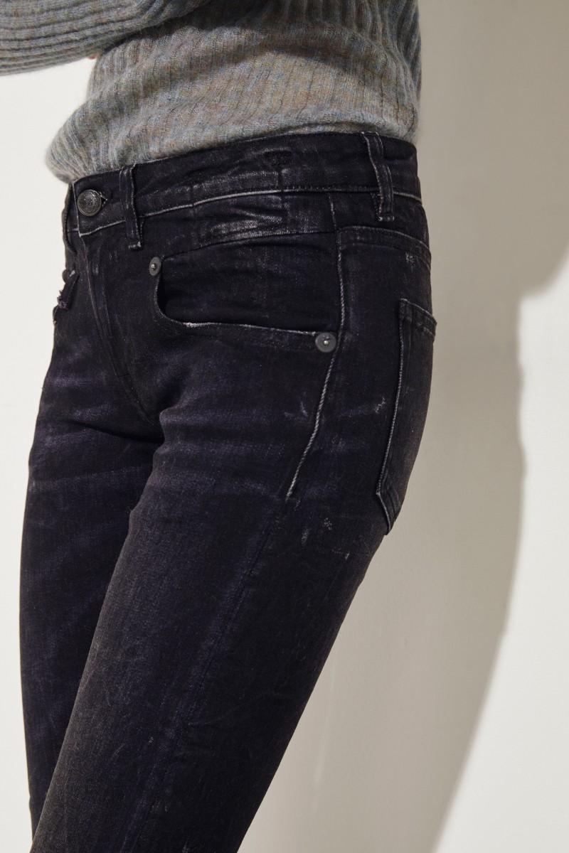 Boy Skinny-Jeans Schwarz