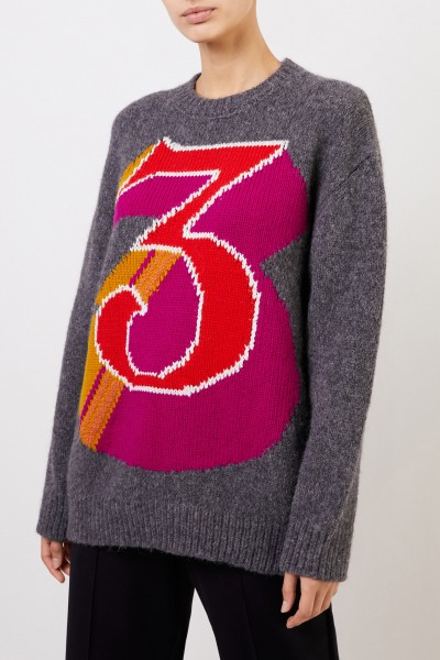 Stella McCartney Oversize Wollpullover Multi