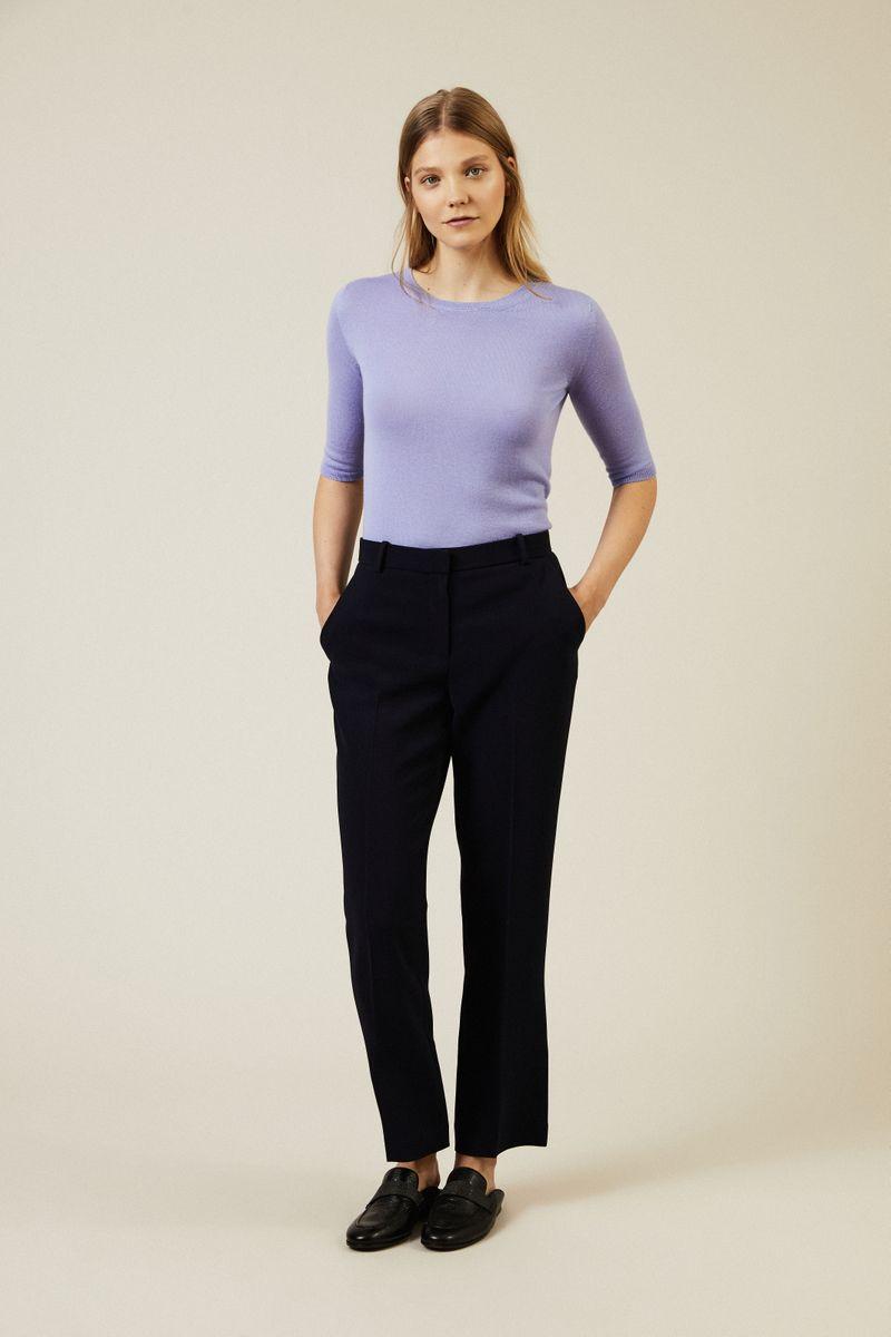 Cashmere Pullover 'Lynn' Flieder